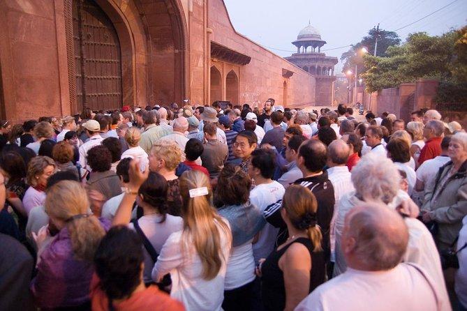 Skip The entrance ticket line private taj mahal tour