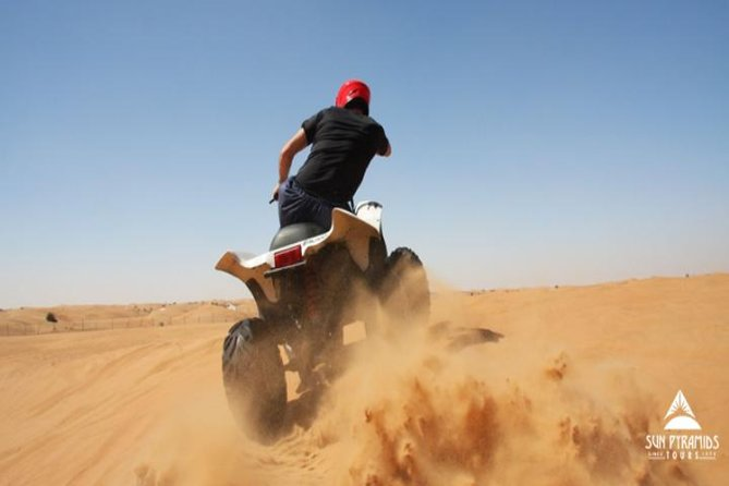 Morning Quad Bike Desert Safari from Marsa Alam