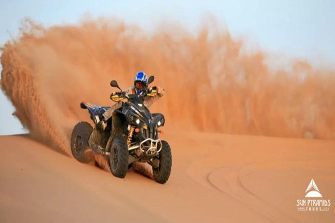 Day tour to Morning Quad Bike Desert Safari in Egypt