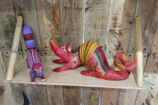 Half-Day Alebrijes Carving and Painting Workshop in San Martin from Oaxaca photo 8