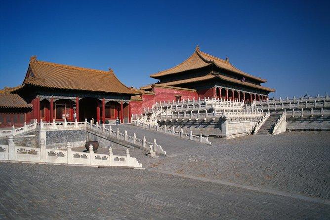 Tiananmen, Forbidden City, Temple of Heaven, Summer Palace Group Bus Tour