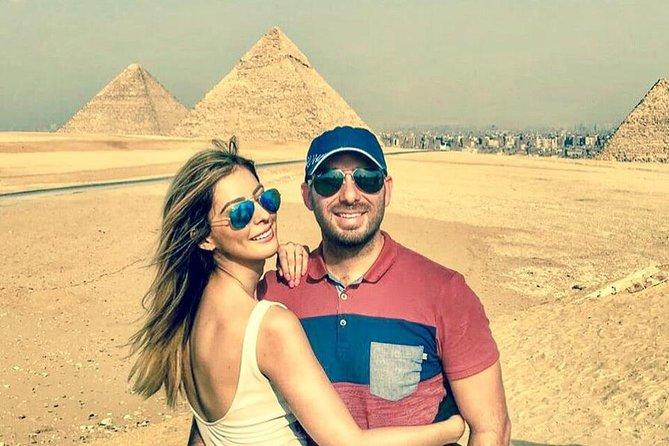 8-hours: Giza pyramids ,Sakkara step pyramids Memphis tour from Cairo Giza hotel