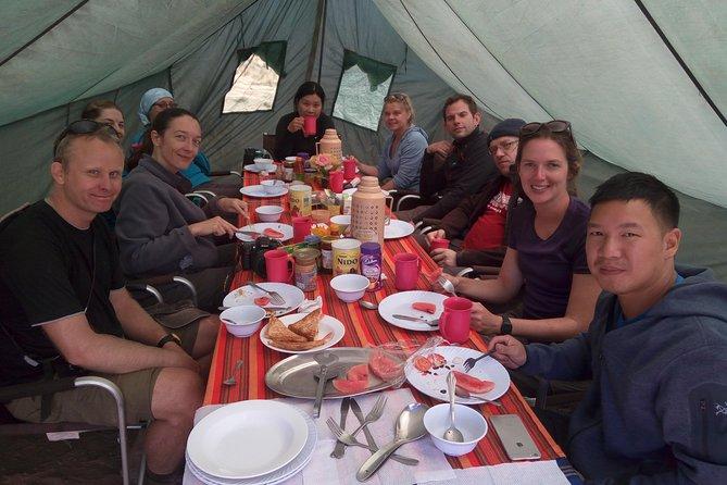 8 days Kilimanjaro trekking via Lemosho route