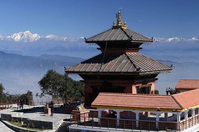 Shiva temple on the top