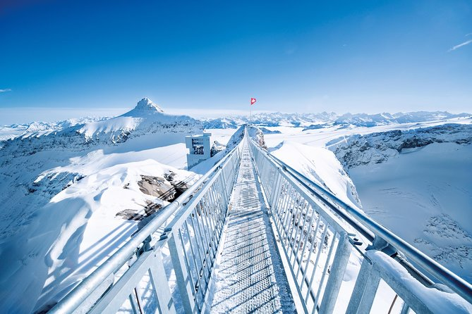 Riviera Col du Pillon & Glacier 3000: High Level Experience Swiss Alps from Montreux