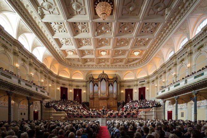 Concerto de domingo de manhã na Royal Concertgebouw, em Amsterdã