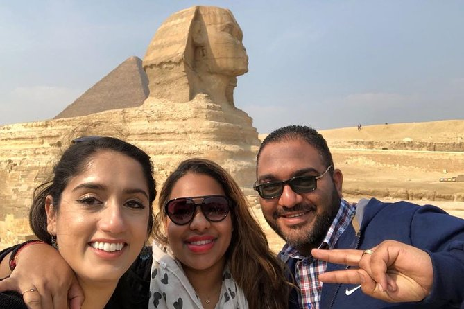 Giza pyramids , Islamic mosque and castle from cairo and giza hotels