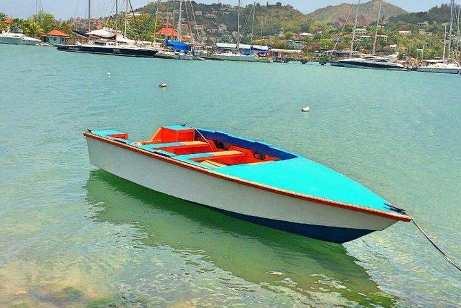 Local boat in harbor