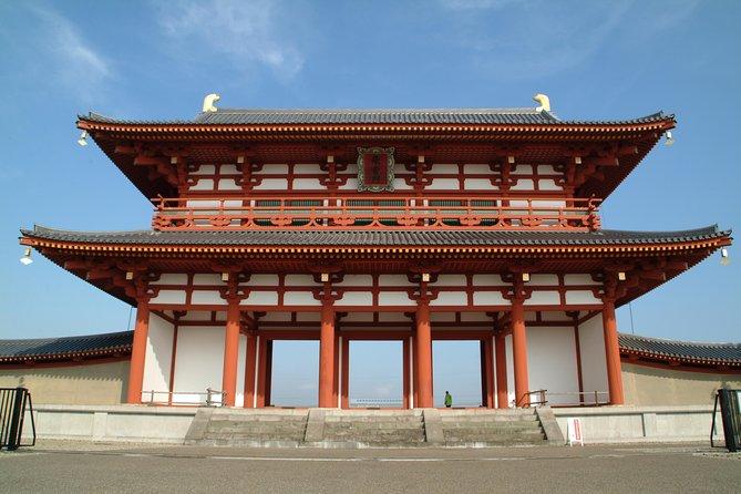 Heijo Palace and Yamato Koriyama Walking Tour (Full Day)