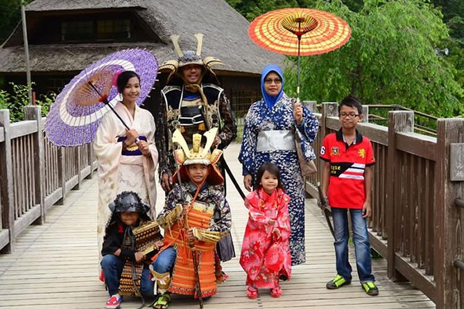Private Mt. Fuji Tour & Japanese Costume Experience with Hotel Pickup