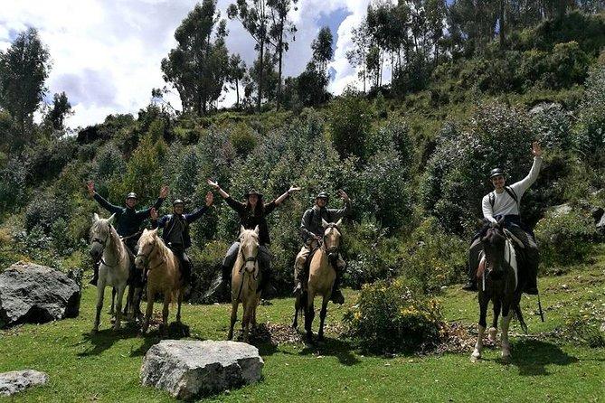 Horse Riding Full-Day:Sacsayhuaman, Temple Of The Moon, PucaPucara & Tambomachay