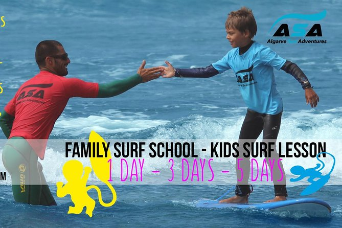 Family and Kids Surf School
