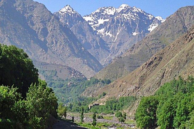 Excursión de un día en grupo por las Montañas del Atlas incluido el valle de Imlil desde Marrakech