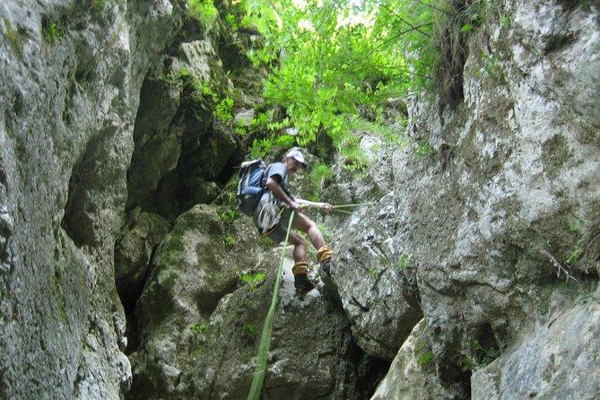 Canyoning on Dambovicioara Gorges from Brasov