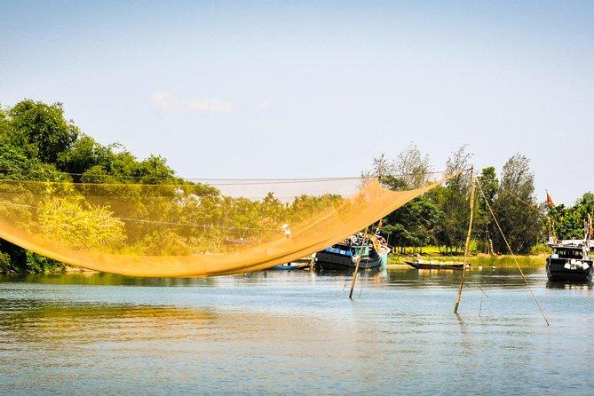 Landlig sykkeltur fra Hoi An med fiske, massasje, lunsj