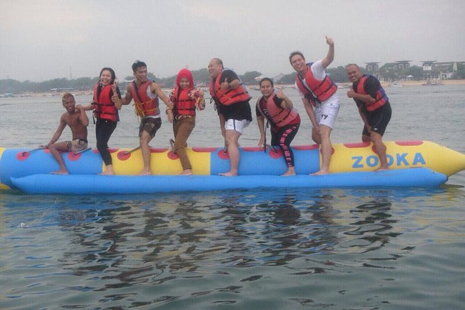 Private Water Sport Banana Boat and Uluwatu Temple Tour