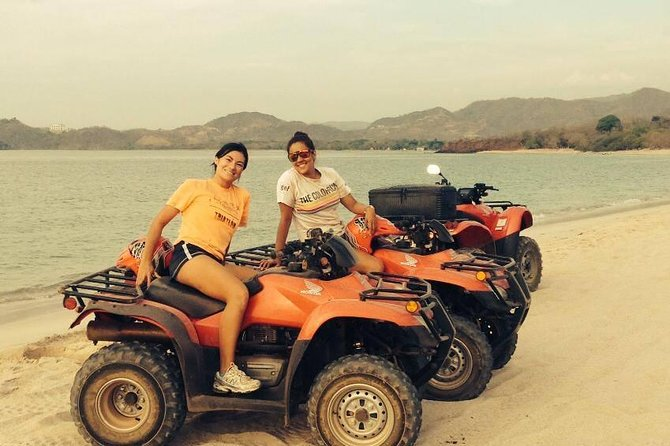 One Day Beach Tour: ATV and Sailing Catamaran at Flamingo Beach