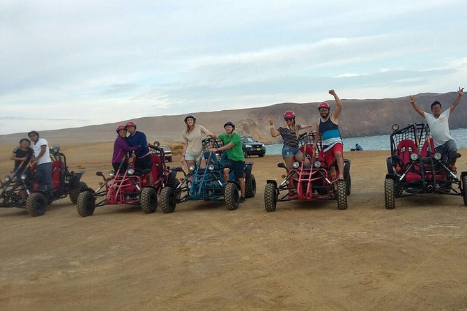Buggy ride in Paracas National Reserve