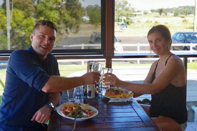 Australian Country Pub Crawl in a chopper