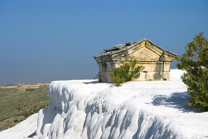 Pamukkale Hot Springs and Hierapolis Ancient city