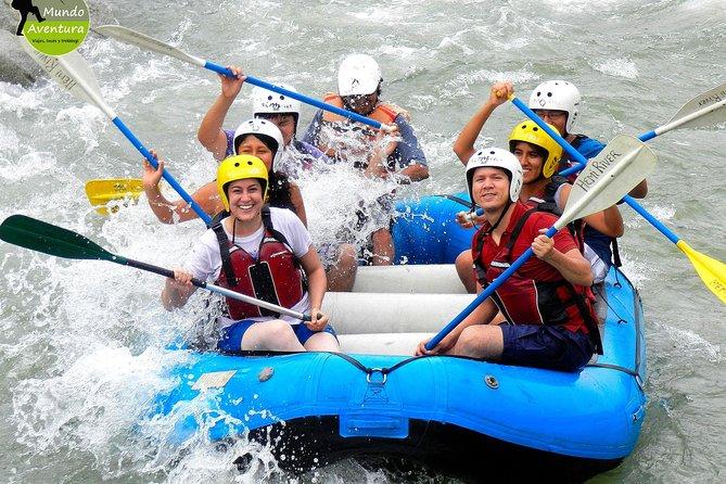 Rafting in Lunahuana River