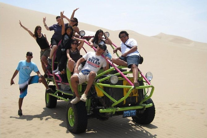 Private Tour to Ballestas Islands and Huacachina Sand Dunes with sports