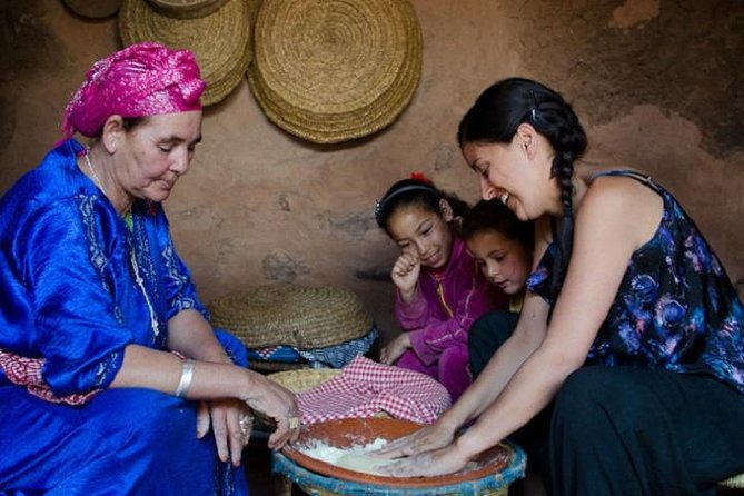 Berber Cooking Class Marrakech to Atlas Mountains Day Trip