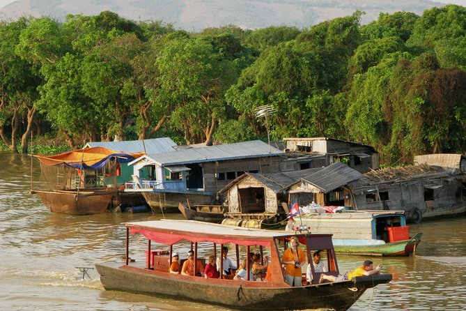 Kompong Khleang Floating Village from Siem Reap