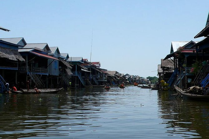 Kompong Phluk Two Floating Villages and Sunset Tour