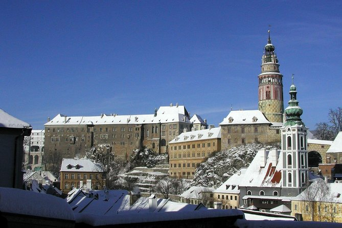 Cesky Krumlov Unesco listed Town and Ceske Budejovice full day trip with lunch