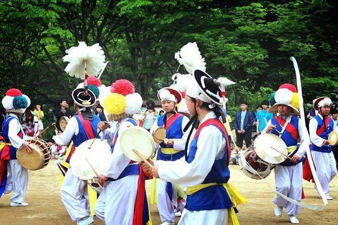 Day Trip to Yongin MBC Daejanggeum Park and Korean Folk Village from Seoul