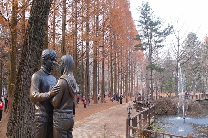 Tour completo di Nami Island e Garden of Morning di Seoul