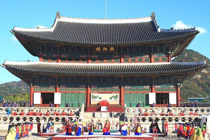 Full Day Royal Palace and Korean Folk Village Tour