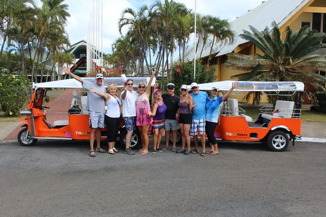 Private Custom Tour: Half-Day Rarotonga Island by Electric Tuk Tuk