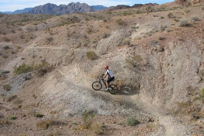 Bootleg Canyon Singletrack Tour with Las Vegas Pickup