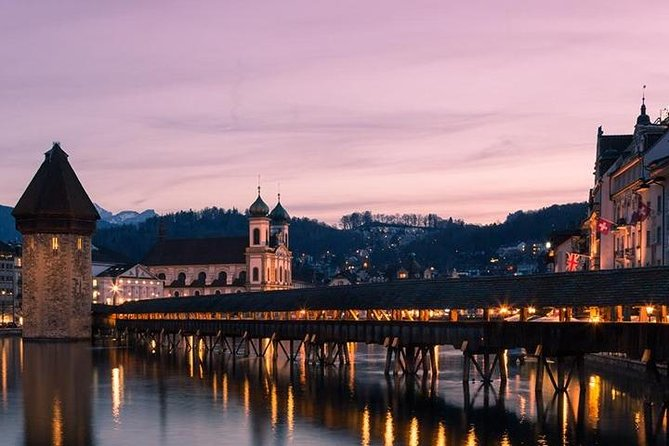 Lucerne Half-Day Tour with Transport from Basel