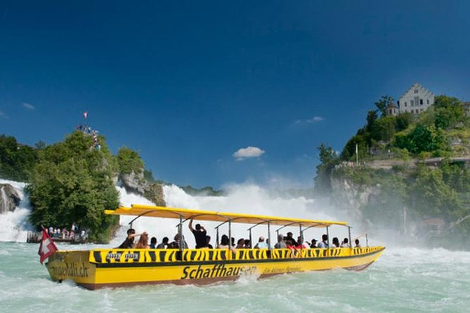 Rhine Falls Half-Day Trip from Basel with Hotel Pickup and Drop-off