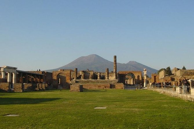 Semi Private VIP tour to Pompeii Ruins with a Private Guide & reserved access