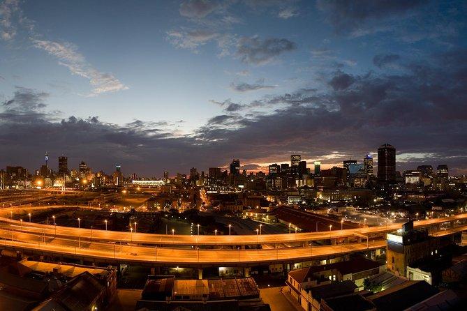 Night view of Johannesburg