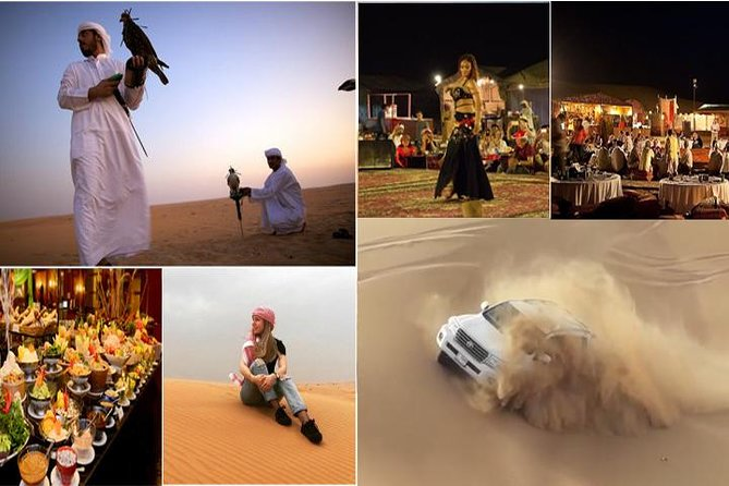 Dubai Evening 4x4 Desert Safari with BBQ, Sandboarding & Camel Ride photo 1