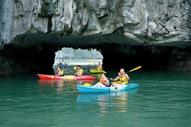 Luon Cave kayaking
