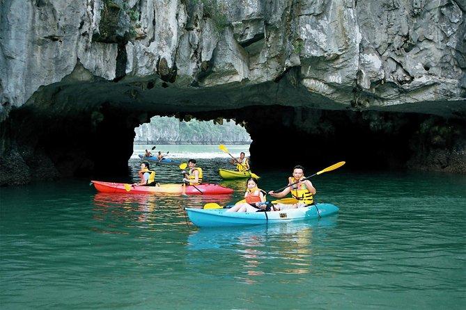 Luon Cave kayaking