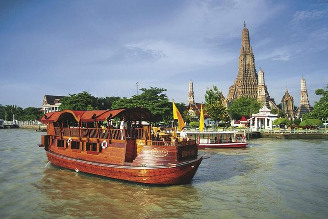 Venice of The East: Bangkok River Cruise by Rice Barge with Return Transfer