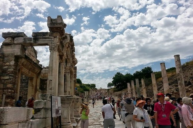 Ancient Ephesus House of the Virgin Mary Temple of Artemis and Sirince Village Small Group Tour