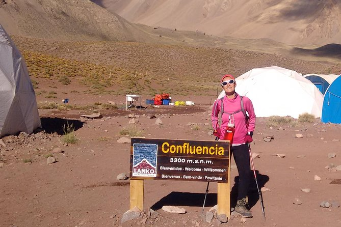 Aconcagua nearest base camp Confluencia