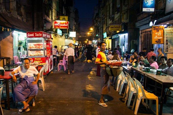 Yangon After Dark