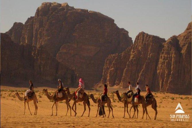 Quad biking with Camel ride & Beduin dinner