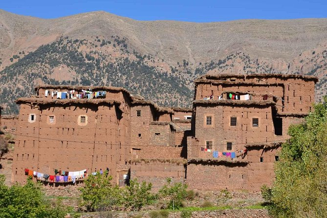 Full-Day Sightseeing Tour of Ouzoud Waterfalls and Atlas Mountains