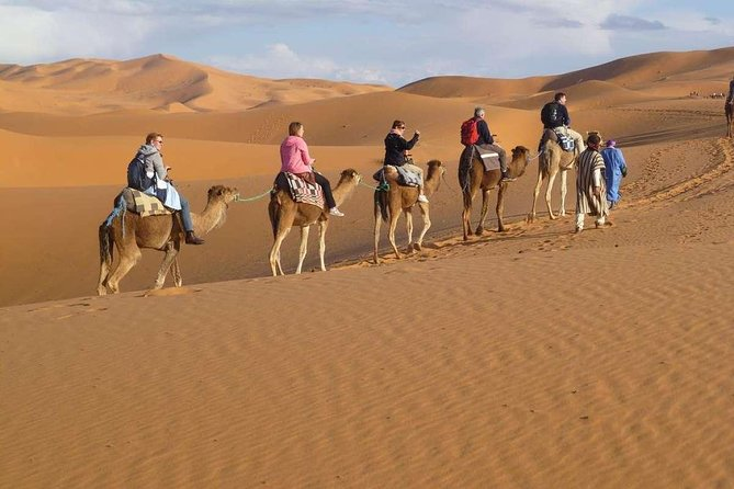 4 Days Tour To Fes Desert Experience Camel Trek In Merzouga From Marrakech
