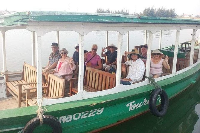 HOI AN RIVER CRUISE TOUR with FOOT MASSAGE & AUTHENTIC LUNCH at Local Family